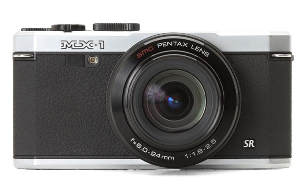 Pentax MX-1 noir et argent/silver