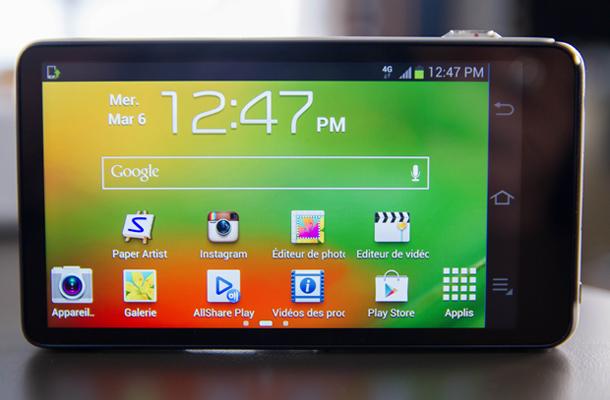 Samsung Galaxy Camera Android