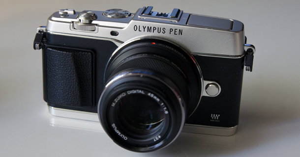 Olympus PEN E-P5 feature revised