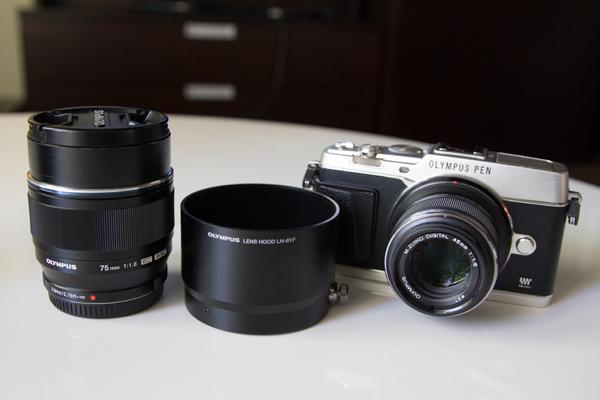 Olympus_PEN_E-P5_lenses
