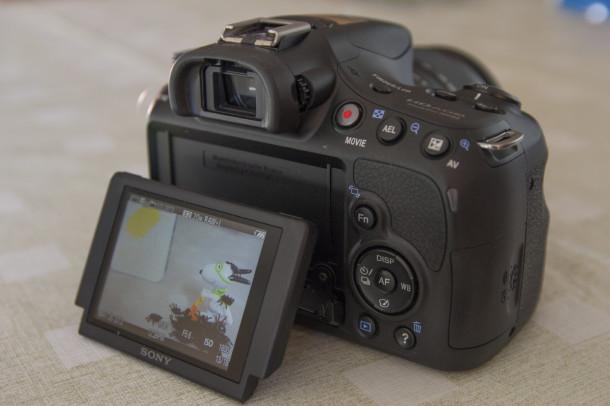 Sony A58 écran pivotant