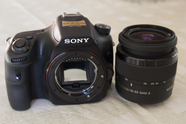 Sony A58 capteur et objectif