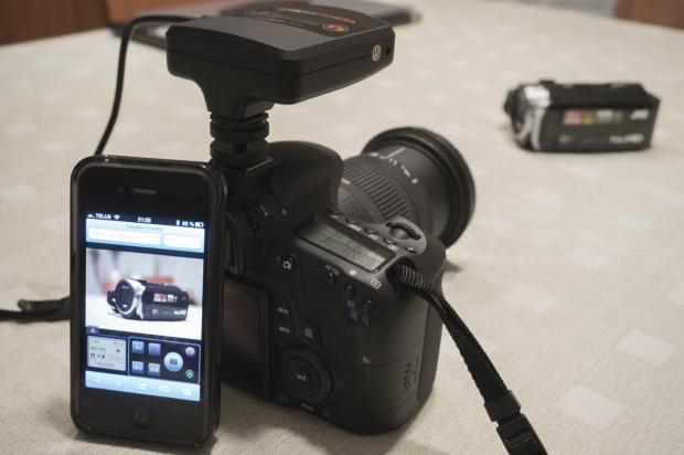 iUSBportCamera avec iPhone