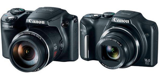 Canon Powershot SX510 SX170