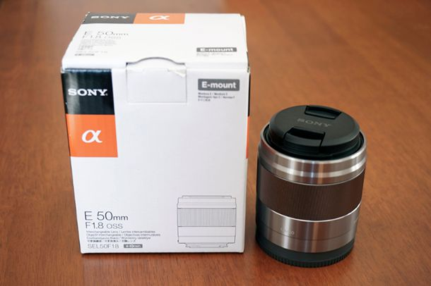 Objectif Sony 50mm f1.8