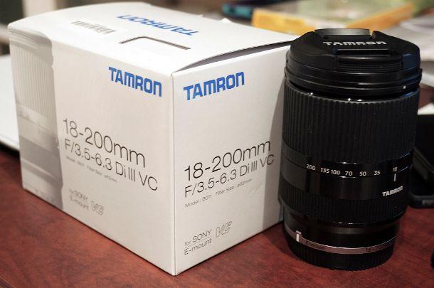 Objectif Tamron 18-200mm f3.5-6.3 Di III VC