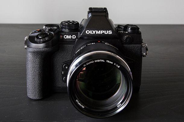 Olympus OM-D E-M1 devant