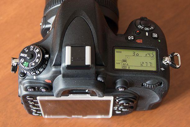 NikonD610-top