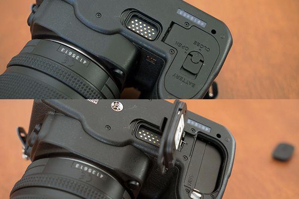 Pentax K-3-compartiment