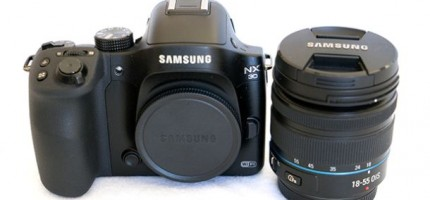 Samsung NX30 - Lens