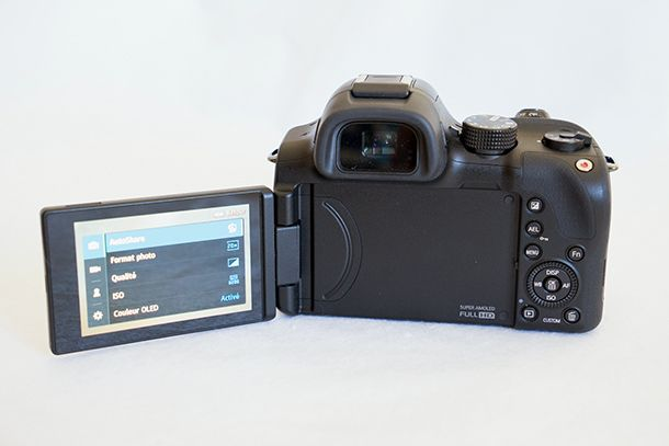Samsung NX30 - Screen