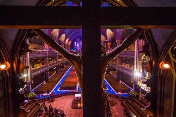 Christ Basilique Notre-Dame Montréal Rémi St-Onge