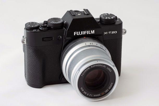 Fujifilm X-T20 avec objectif 50mm f1.4