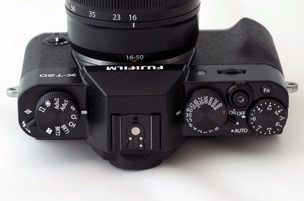 Fujifilm X-T20 molettes