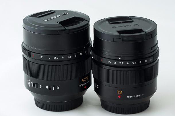 Panasonic GX85 objectifs Leica