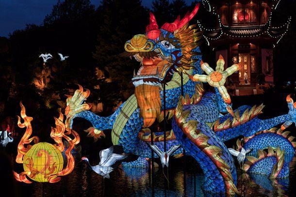 Lanternes chinoises 2017 - Jardin botanique de Montréal