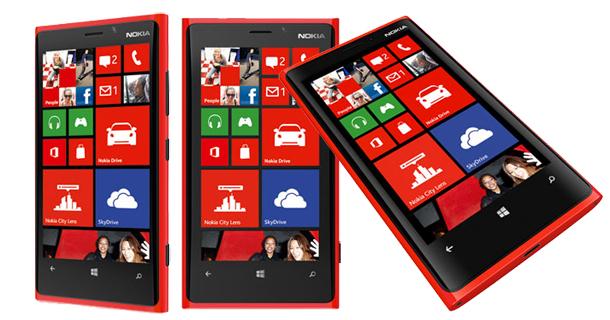 Nokia Lumia 920 rouge - Feature