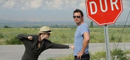 Panneau d'arrêt en Turquie